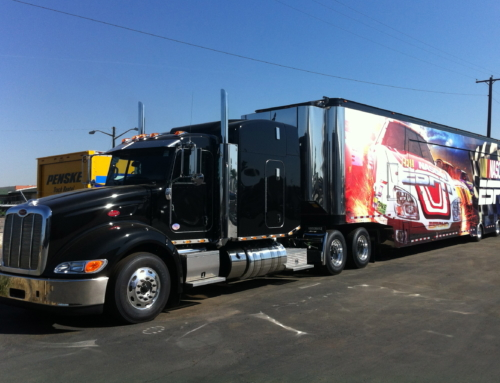 53′ Double Expandable Trailer for Lease