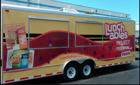 24' Sampling or Concession Trailer available for sale or lease.