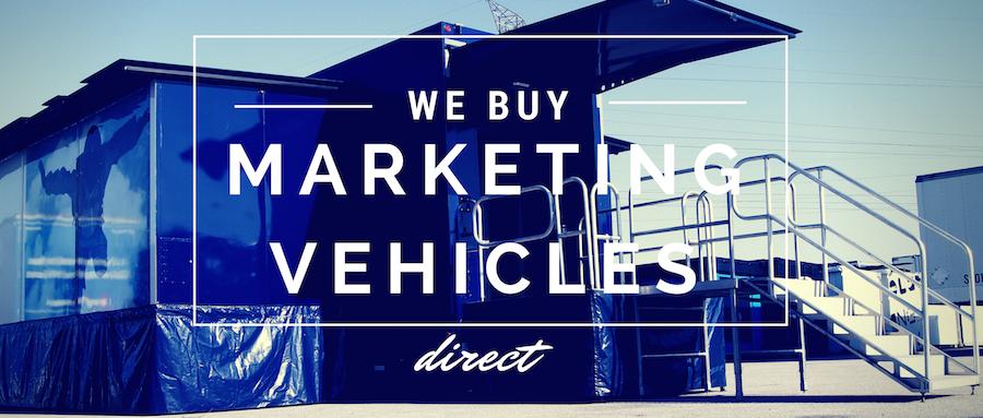 we buy used marketing vehicles