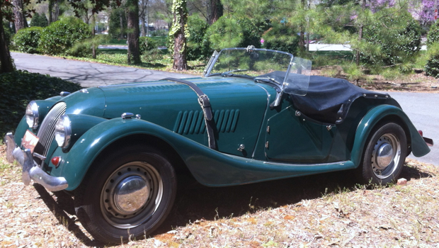 Classic British Roadster available for Marketing Tour