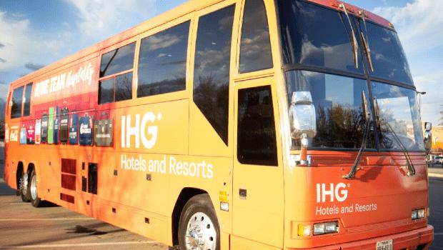 Marketing prevost bus for rent