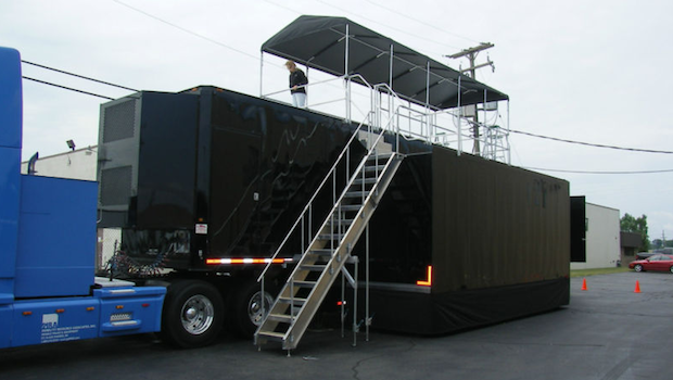 Single Expandable Trailer Sold Marketing Trailers