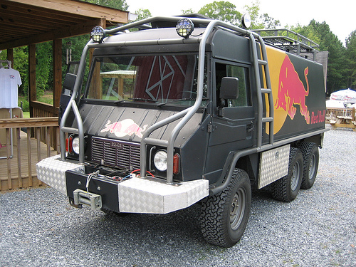 Redbull Pinzgauer Marketing Trailers Amp Vehicles