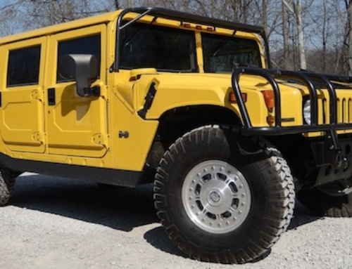 Hummer H1 for Sale: The Original Marketing Truck