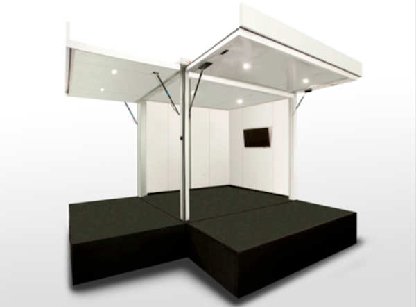 small mobile pop up store trailer