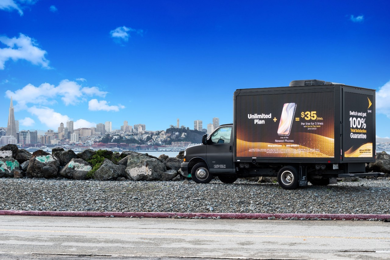LED truck san francisco