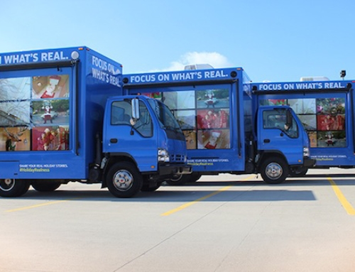 Glass Display Trucks & Mobile Billboards