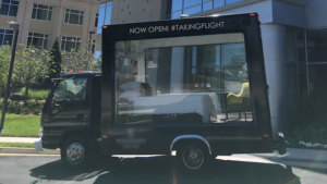 Glass Display Trucks Amp Mobile Billboards