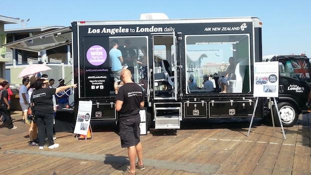 18 foot glass display marketing truck