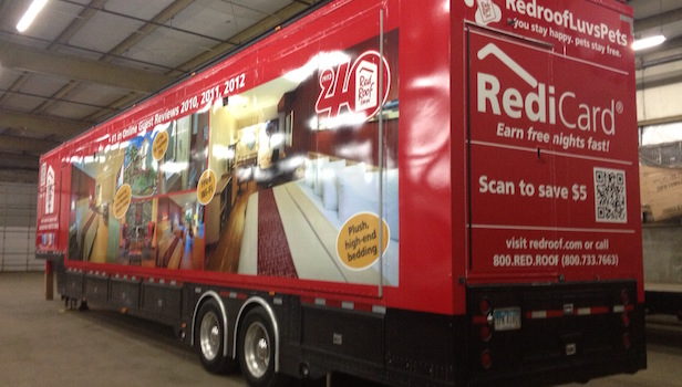 ouble expandable custom marketing trailer for sale