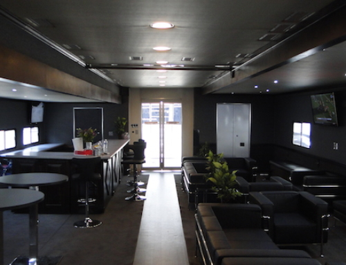 3 turnkey hospitality trailers cool enough to BE the event