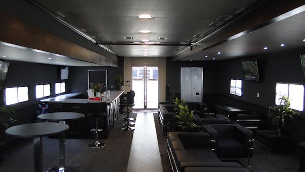 turnkey hospitality trailer
