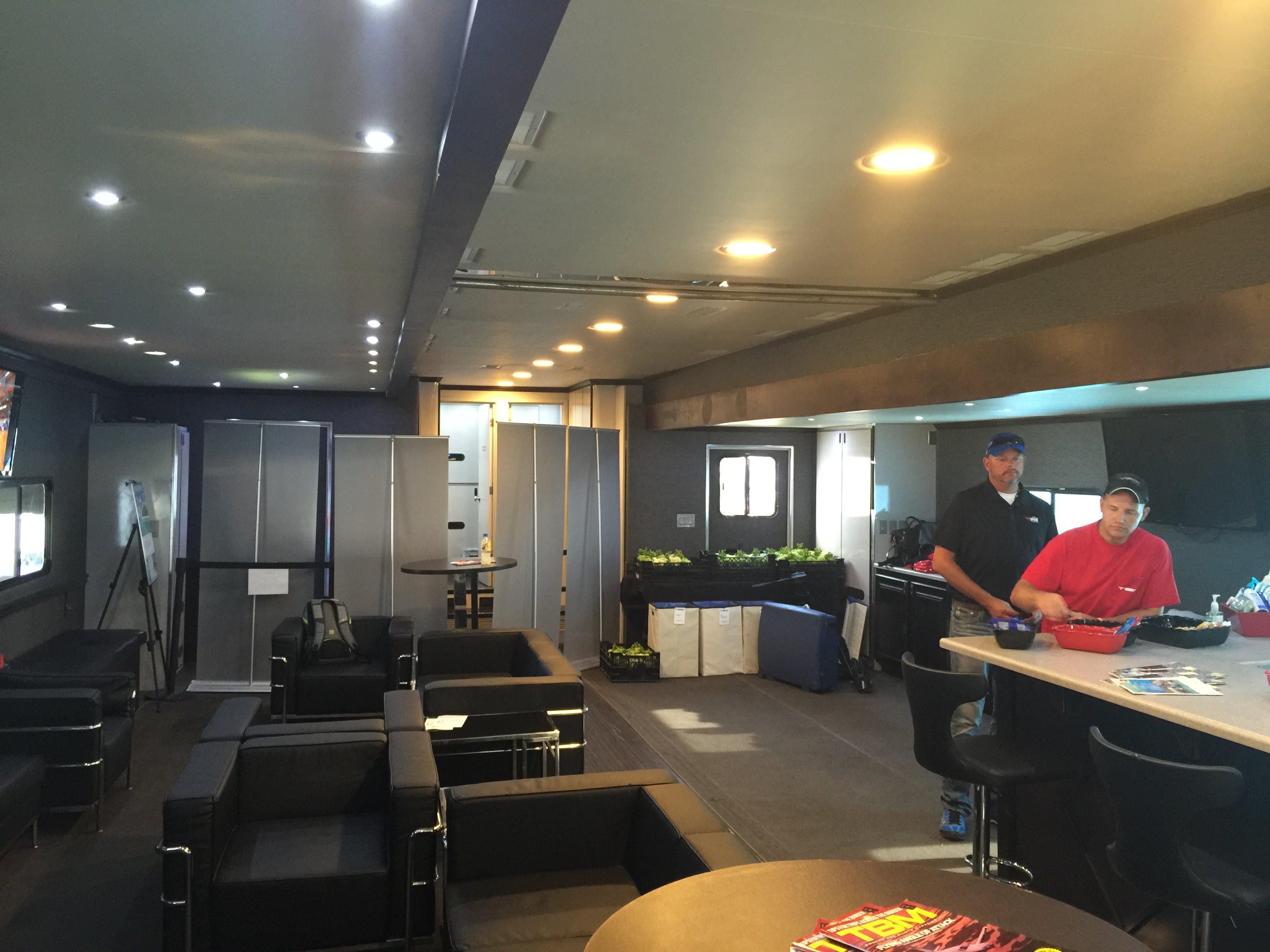 Vip Lounge rear interior