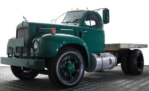 vintage marketing truck