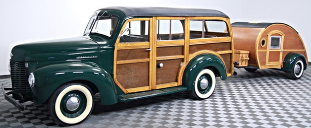 vintage vehicle for marketing and promotions