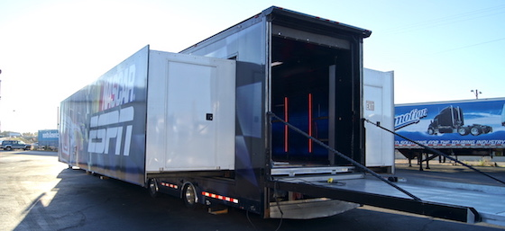 2007 Double Expandable Trailer Sold Experiential Vehicles