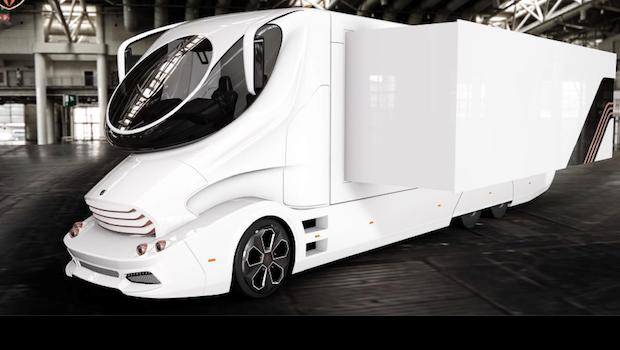 Luxury Mobile Exhibit Vehicle - Marketing Trailer - Experiential Vehicles