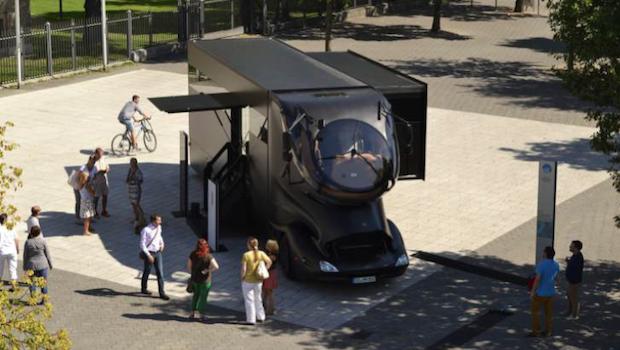 Luxury Mobile Exhibit Vehicle
