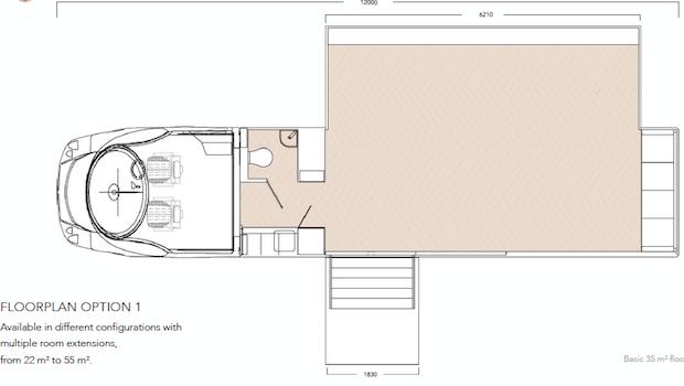 single-expandable-exhibit-trailer-diagram