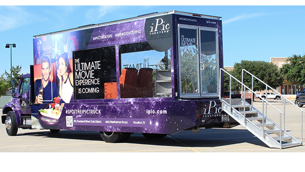 ipic glass walled truck