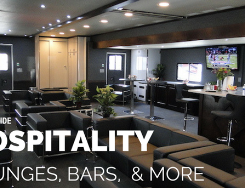 Turnkey Mobile Hospitality Trailers: Lounges, Bars, and More