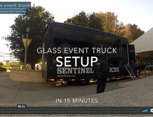 Glass Event Truck 15 Minute Setup