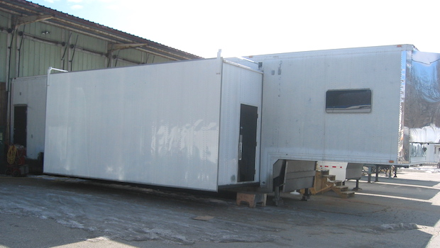 Extra Height Single Expandable Trailer window