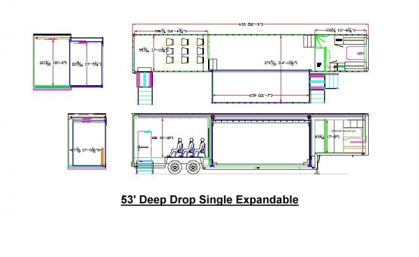 extra height single expandable dimensions