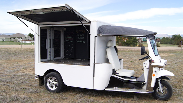 eTuk Electric Vending Truck