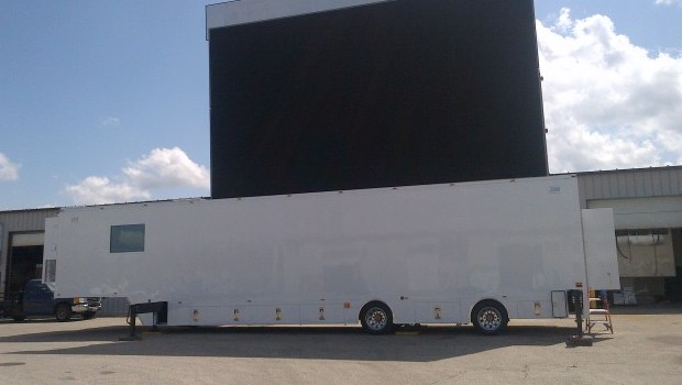 largest mobile LED wall for sale or lease