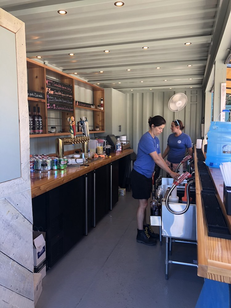 container bar