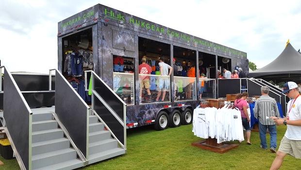 40 foot merchandising trailer open