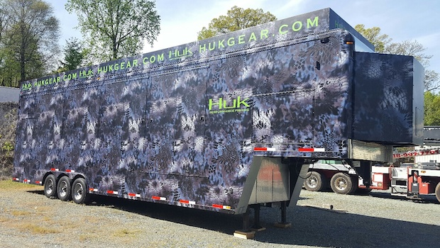 40 foot merchandising trailer travel model