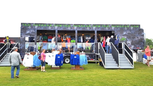 40' foot vending trailer