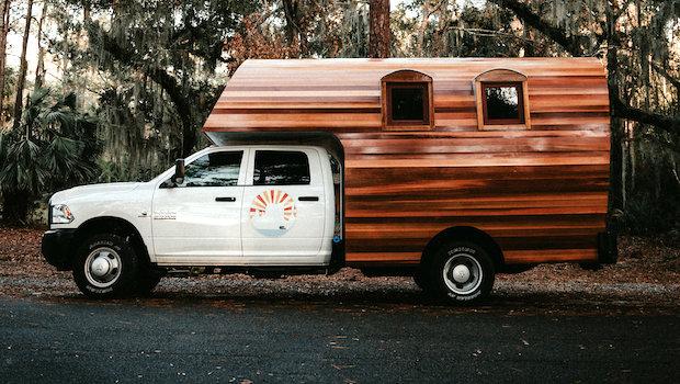 wood camper truck for sale