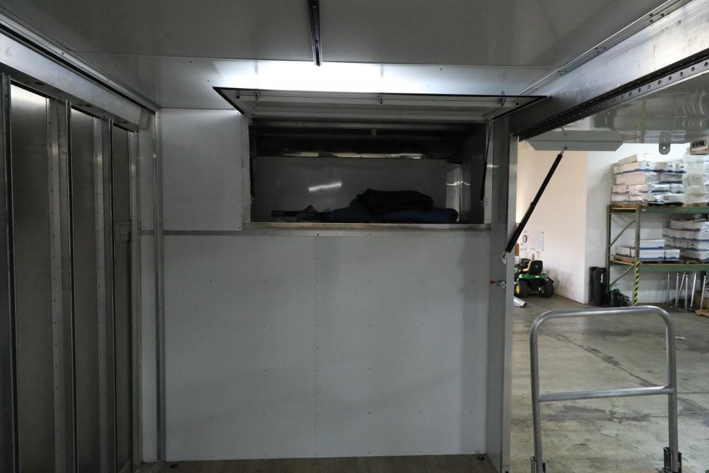 EZ Stage Truck Storage area