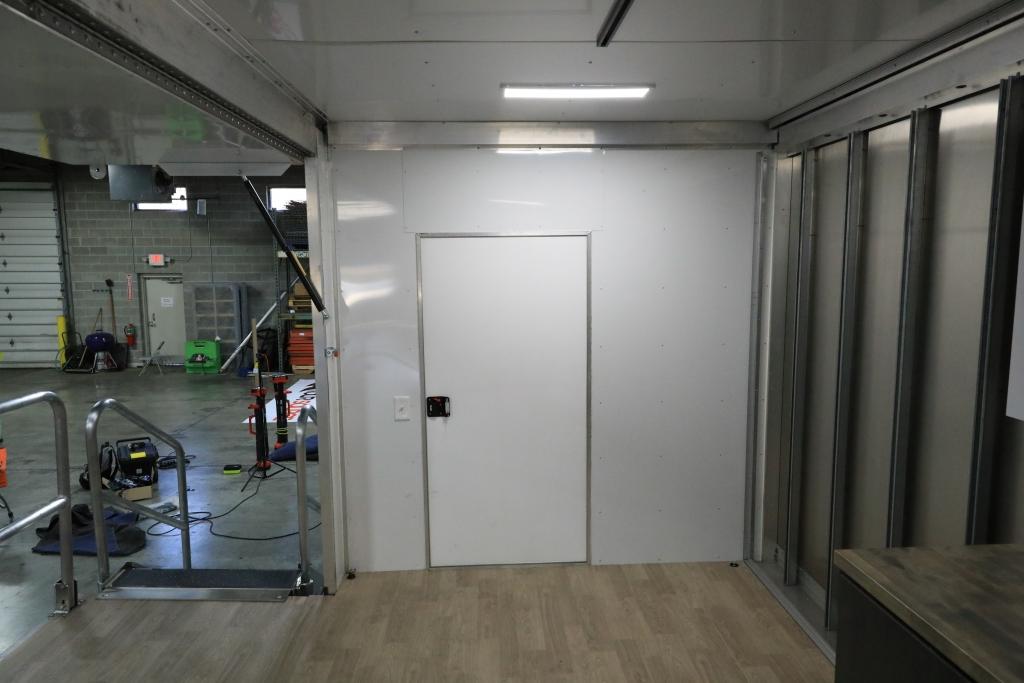 EZ Stage Truck Storage access door
