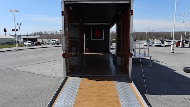 featherlite stage car hauler ramp