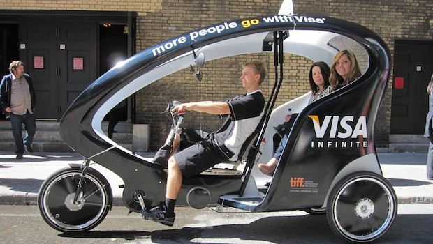 modern electric pedicab for sale or lease