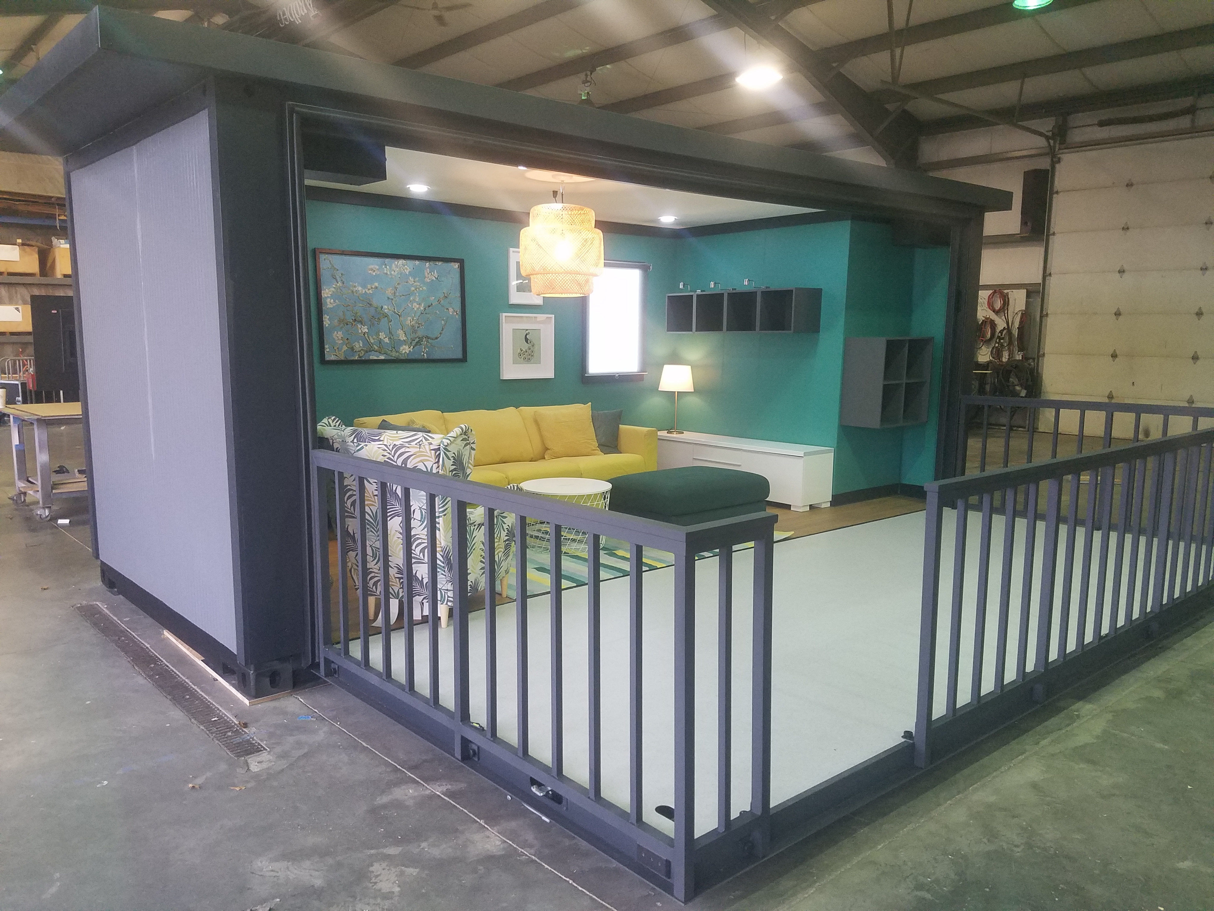Event Shipping container rental