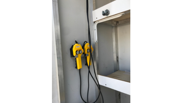 container stage controls