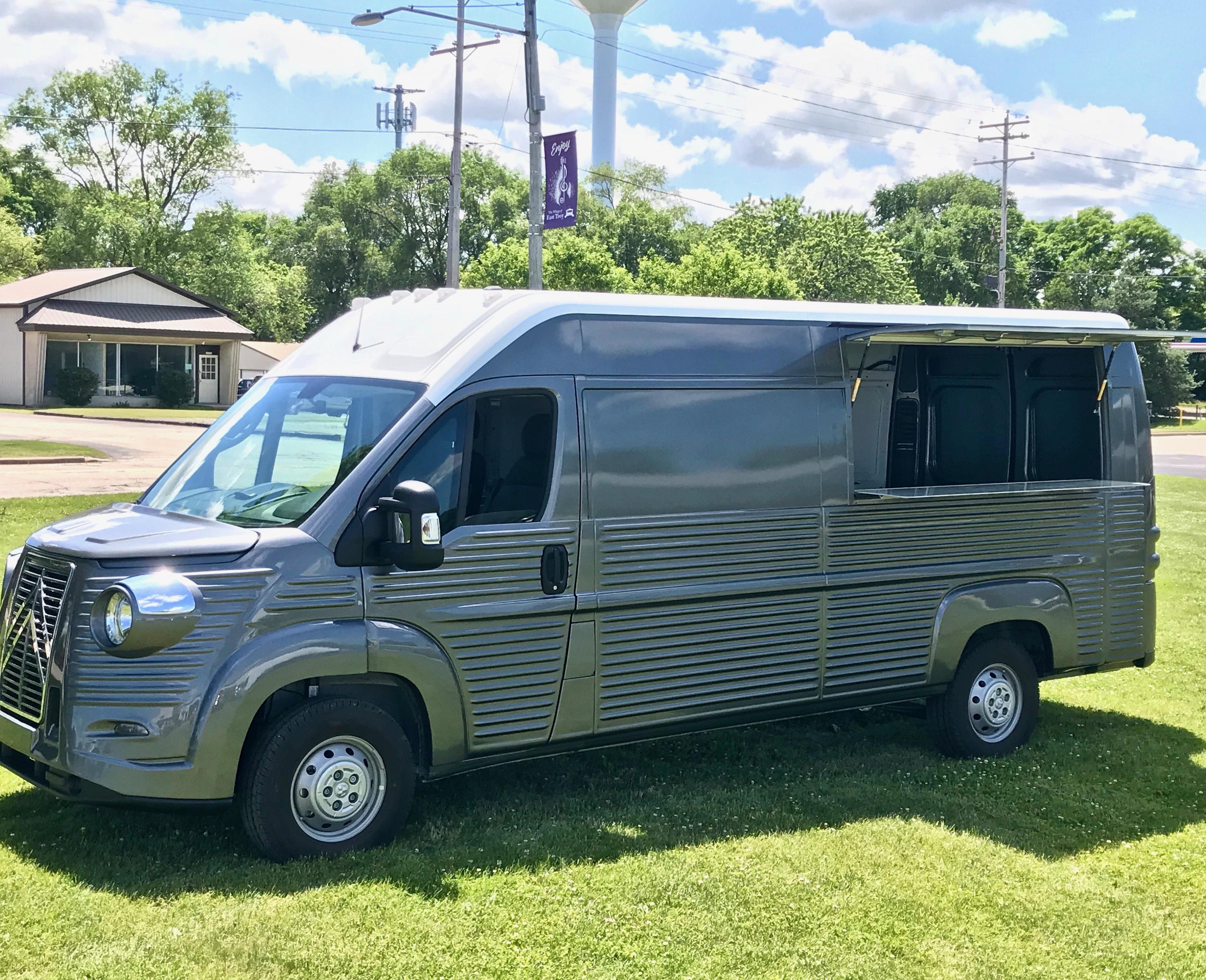Citroen HY Van (Modern) marketing van for lease