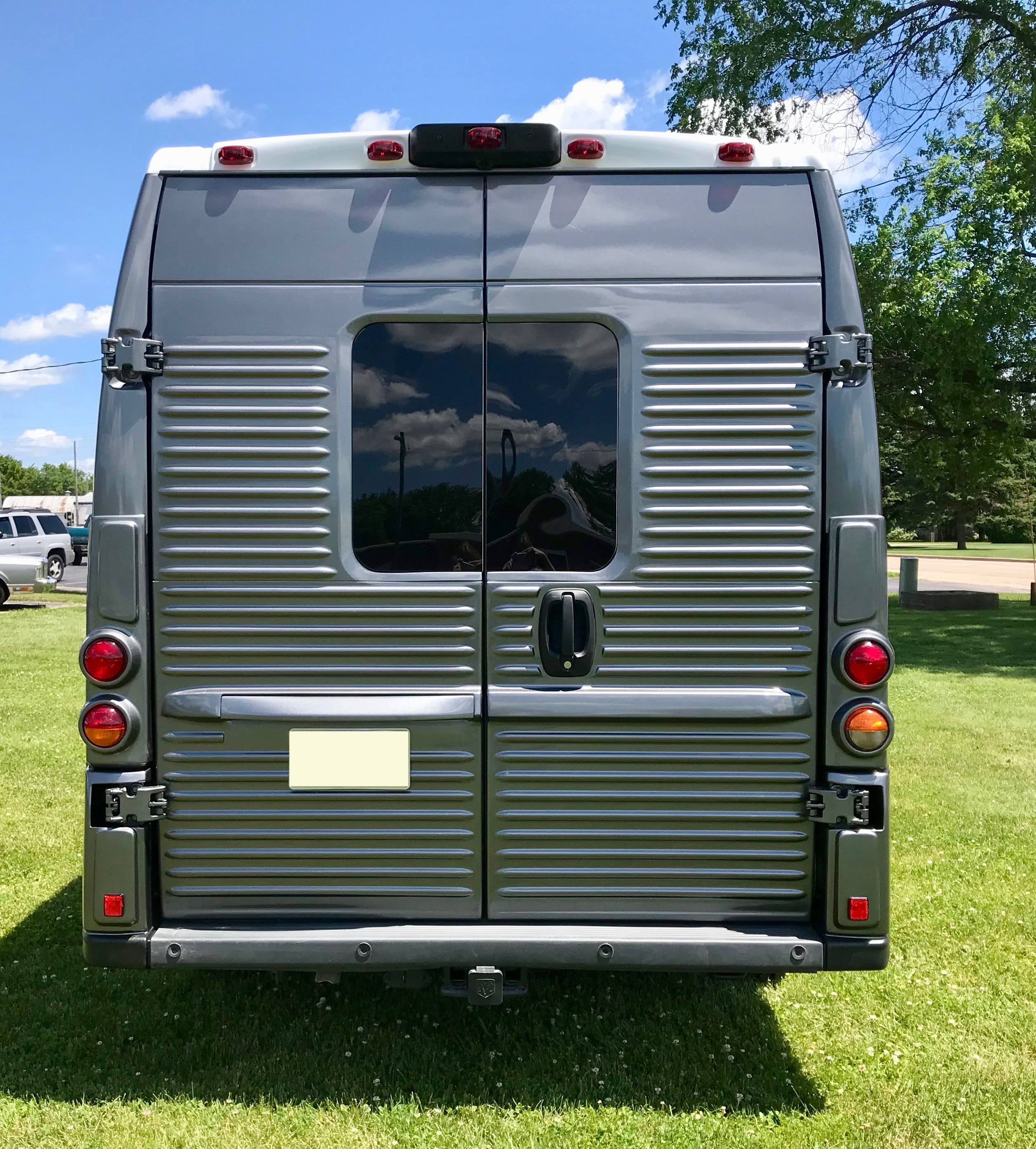 Citroen HY Van (Modern) rear doors