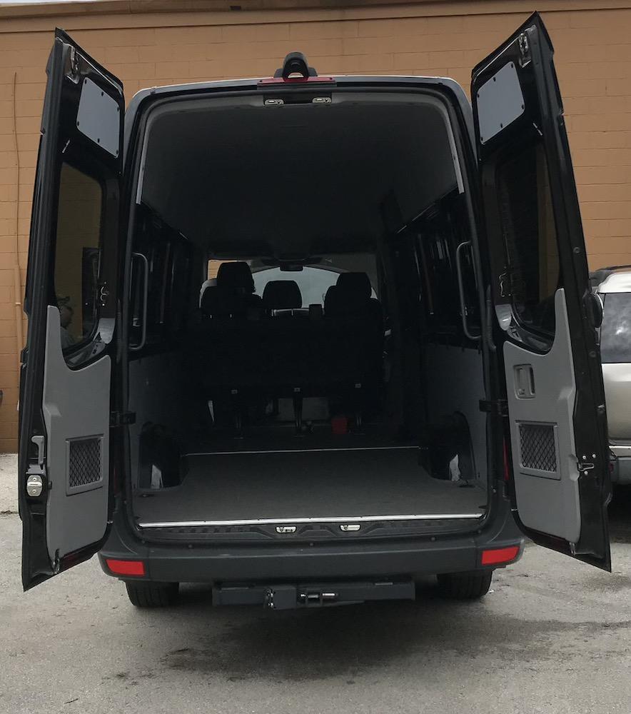 Crew Sprinter rear doors