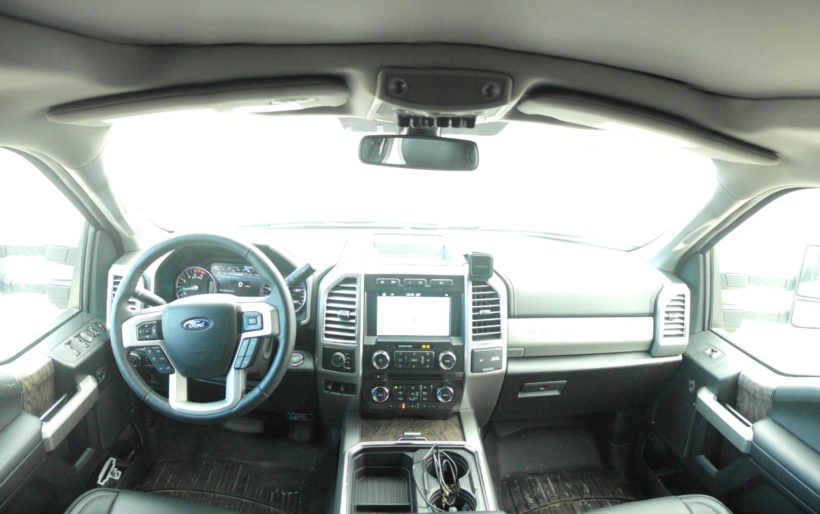 Ford 450 interior