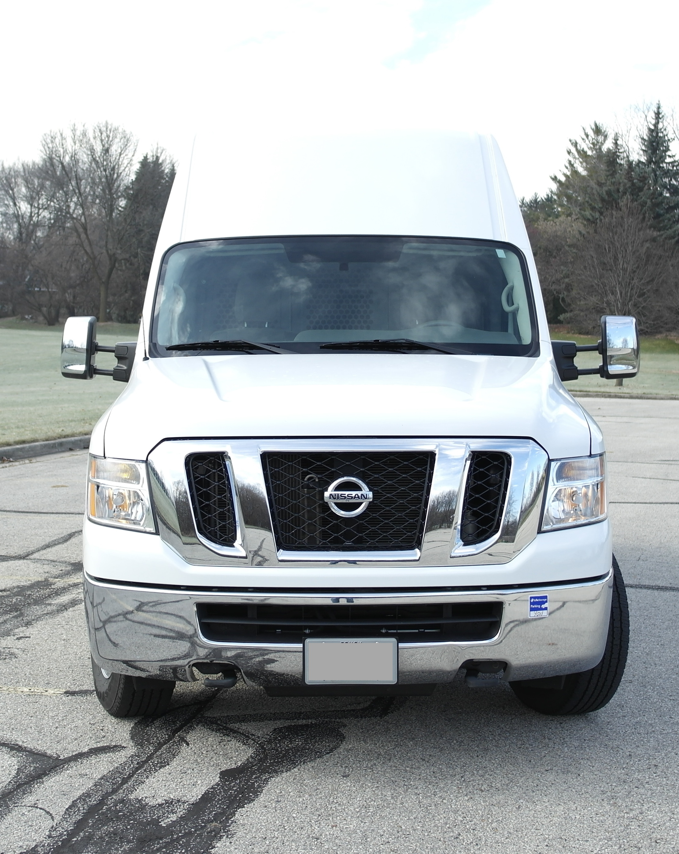 Nissan NV 2500 grill