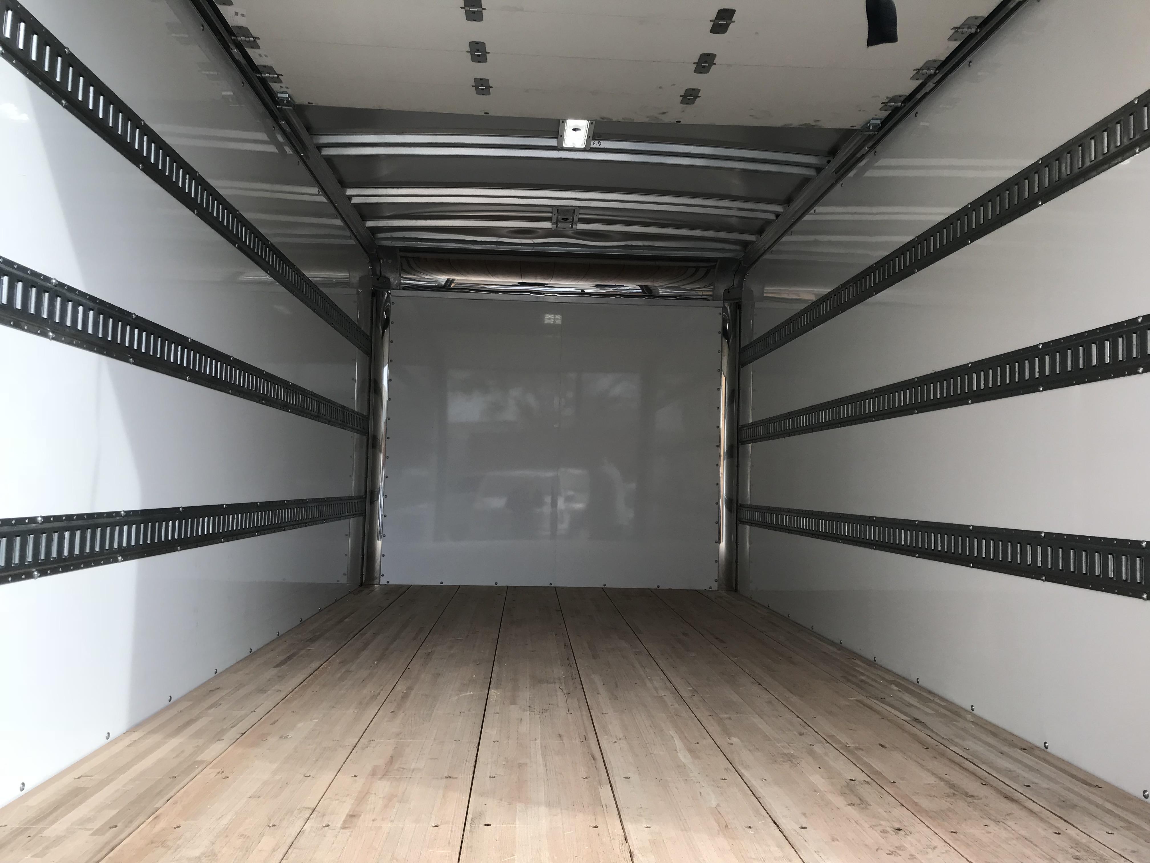 Sprinter Box Truck interior close