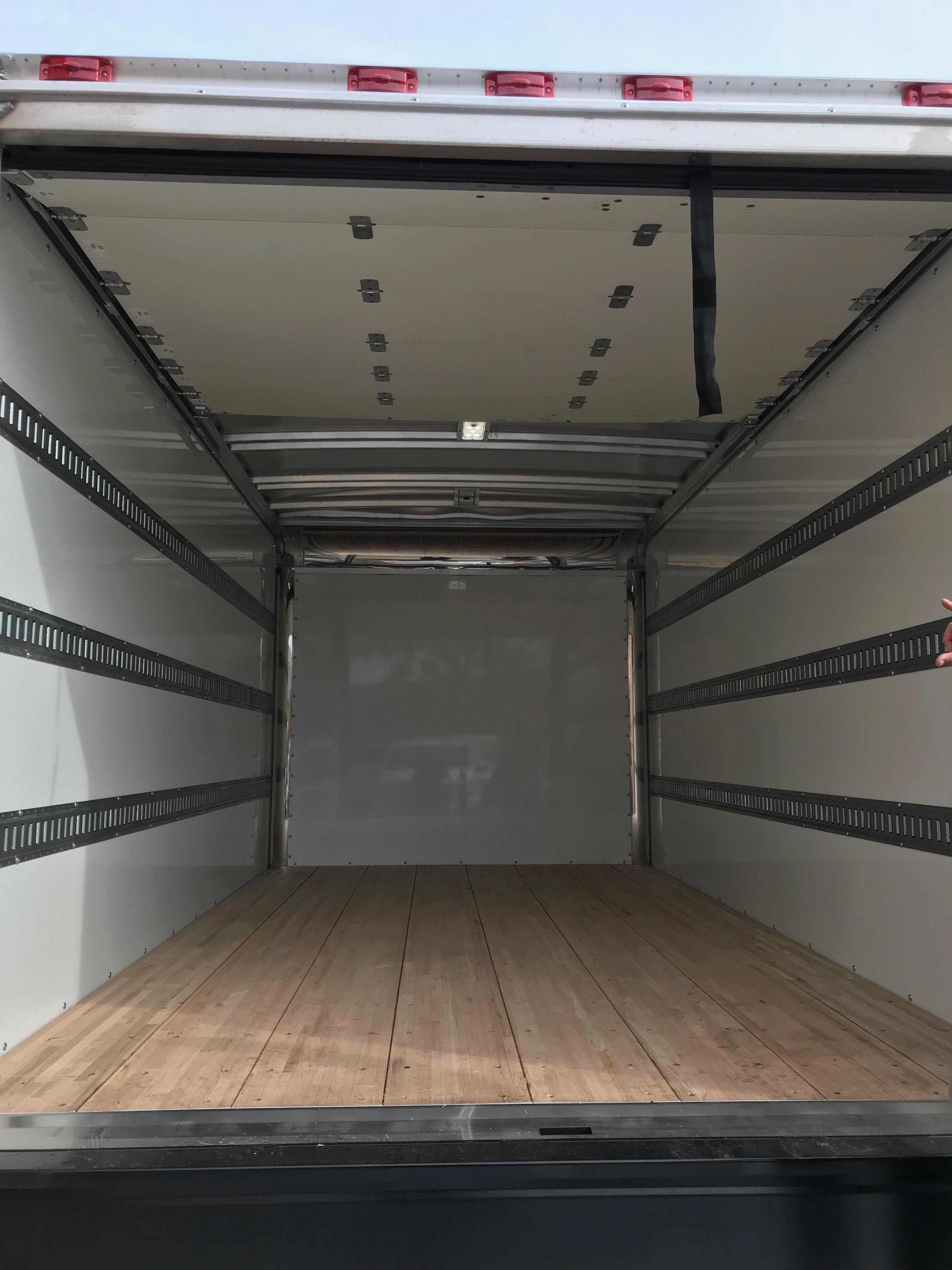 Sprinter Box Truck interior