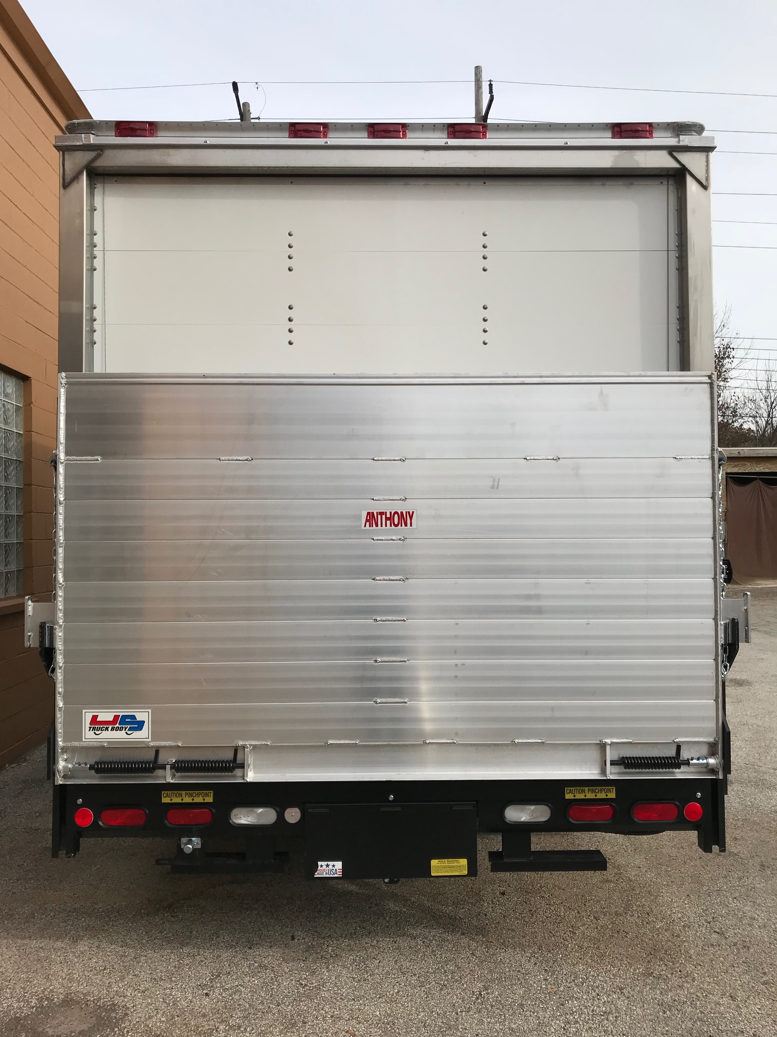 Sprinter Box Truck liftgate up