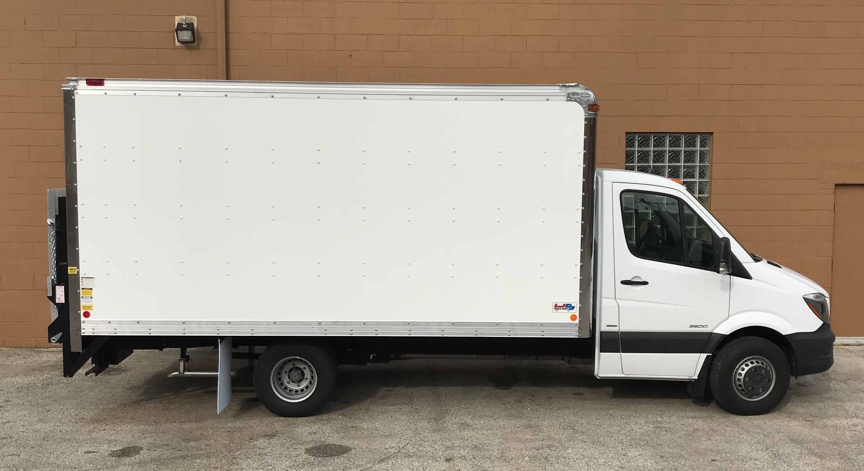 Sprinter Box Truck liftgate